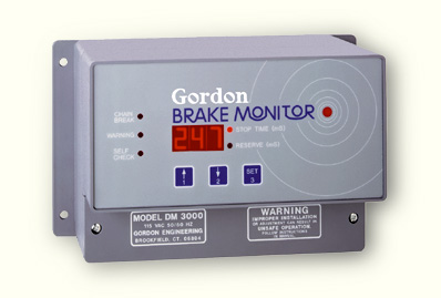 Gordon Brake Monitor